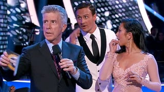 Ryan Lochte Rushed by Protesters During 'Dancing With the Stars' Debut: Watch the Scary Moment
