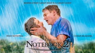 Ryan Reynolds and Conan O'Brien Re-Create The Notebook's Kiss, See How Blake Lively Reacted