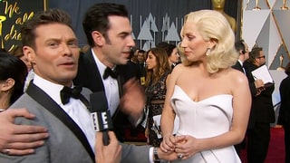 Ryan Seacrest Snubs Sacha Baron Cohen on the Oscars 2016 Red Carpet, But There's a Happy Ending!