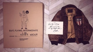 Saint West Gets a Custom-Designed Bomber Jacket From Ralph Lauren: Photo