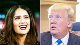 Salma Hayek Mocks Donald Trump's '7-Eleven' Flub — Read Her Tweet About Being a 'Dyslexic Mexican'