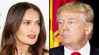 Salma Hayek Suggests Donald Trump Read 'U.S. History for Dummies': 'I Will Gladly Lend You My Copy'