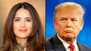 Salma Hayek Suggests Donald Trump May Have Planted a Story About Her After She Denied Him a Date