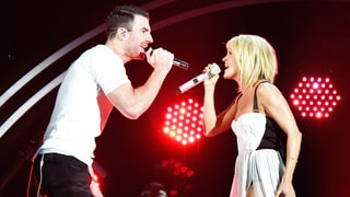 Sam Hunt and Carrie Underwood Sizzle on Stage
