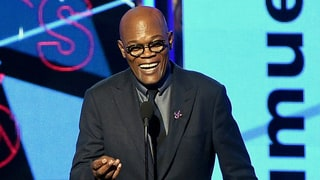Samuel L. Jackson Caught Checking Out Beyonce's Dancer at BET Awards 2016
