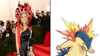 Sarah Jessica Parker as Typhlosion