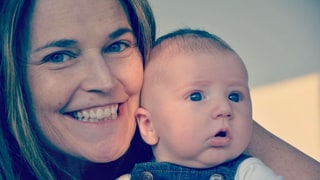 Savannah Guthrie Shares Photo of Baby Son and Announces Return to 'Today'