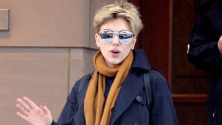 Scarlett Johansson Steps Out Following News of Split from Husband Romain Dauriac