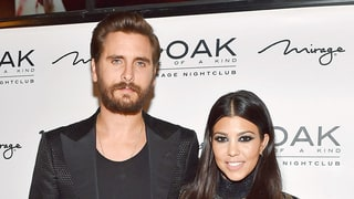 Kourtney Kardashian, Scott Disick Look Like 'Loving, Normal Family' Before His Vegas Gig