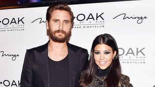 Kourtney Kardashian Reacts to Scott Disick's 'Excuses' for Skipping Kanye West's Fashion Show at the Last Minute