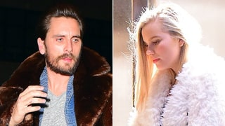 Scott Disick Parties With Mystery Blonde in NYC: Photos