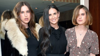 Demi Moore, Tallulah and Scout Willis Wear Long, Flowy Dresses at a Party
