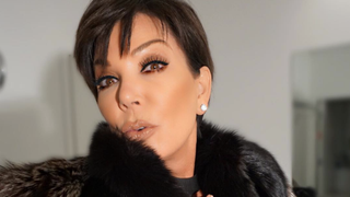 Kris Jenner's Over-the-Top Selfie Involves Fur, Diamonds and the One Product Nobody Can Get