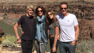 Cindy Crawford, Kids Stun on Family Vacation to the Grand Canyon: We're Not the Griswolds