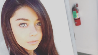 Sarah Hyland Is Ready for Dirty Dancing: See Her Long, Dark Extensions