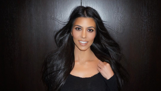 Kourtney Kardashian Will Never, Ever Wear Makeup to the Gym