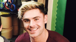 Zac Efron Looks a Whole Lot Like Zack Morris With His New Platinum Hair