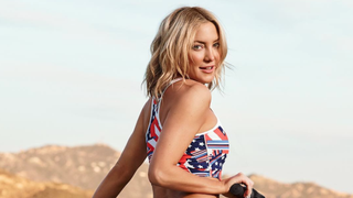 Kate Hudson and Her 'Airbrushed Ass' Celebrate 4th of July in Flag-Themed Bikini