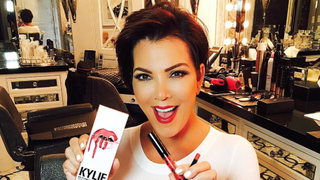 Kris Jenner Finally Gets a Kylie Lip Kit in Her Honor