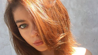 Sarah Hyland Dyes Her Hair From Redhead to 'Bronde' — See the Before and After Photos