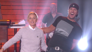 See Luke Bryan Talk 'Butt Ban,' Perform 'Move' on 'Ellen'