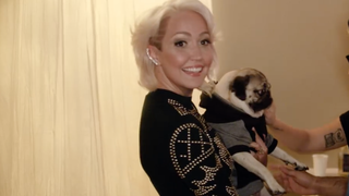 See Meghan Linsey's Trippy Pop-Culture Homage 'Exes and Friends'