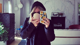 First Look: Hilary Duff Goes Super Light Blonde and Stylish Has the Exclusive Reveal — See the Pictures!