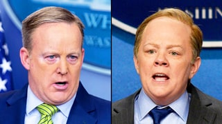 Sean Spicer Reacts to Melissa McCarthy's 'Saturday Night Live' Skit, Alec Baldwin's Donald Trump Impression