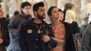 Selena Gomez and The Weeknd Hold Hands at Art Museum in Italy: Photos