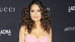 Salma Hayek Looks Perfectly Flawless in Makeup-Free Selfie