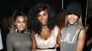 La La Anthony, Serena Williams and Ciara