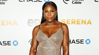 Serena Williams Scores a Grand Slam in This Glittering Dress With a High Slit
