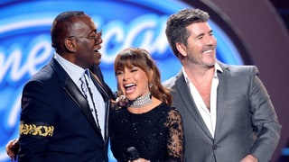 Simon Cowell Has Emotional 'American Idol' Reunion With Paula Abdul, Randy Jackson: Watch