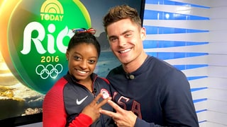 Zac Efron Had 'Butterflies' Before Meeting Simone Biles at Rio Olympics