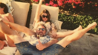 Jessica Simpson's Mom Tina Gets Very, Very Close to Her Sons-in-Law for Birthday Photos