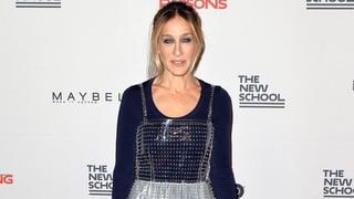 Sarah Jessica Parker Wears Bejeweled, See-Through Plastic Frock Over Another Skirt: Love It or Hate It?
