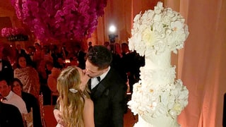Sofia Vergara Shares Adorable Wedding Cake Kiss Photo With Joe Manganiello