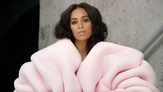 Solange Strips Down in Gold Body Paint, Then Dresses Up in 14 Outfits for 'Cranes In the Sky' Music Video