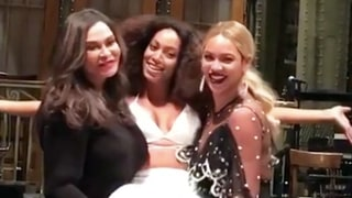 Beyonce, Jay Z and Tina Knowles Support Solange's First 'Saturday Night Live' Performance