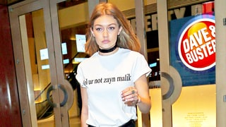 Gigi Hadid Declares Her Love for Boyfriend Zayn Malik on T-Shirt