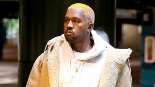 Kanye West Adds Pink to His Platinum-Blond Hair: See the Photo