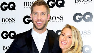 Calvin Harris Jokes About Having a 'Massive Fight' With Ellie Goulding at GQ Awards