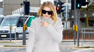 Hollywood's Going Gray! Coats, Sweaters and Boots in This Season's Coolest Shade