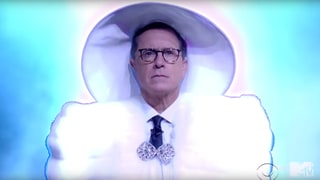 Watch Stephen Colbert's Fiery Parody of Beyonce's VMAs Performance