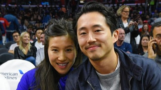The Walking Dead's Steven Yeun Marries Longtime Girlfriend Joana Pak in Los Angeles Wedding