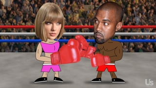 Kanye West's Greatest Feuds Ever with Taylor Swift, Amber Rose and More