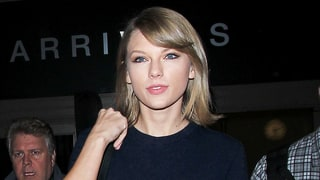 Taylor Swift Celebrates Her 26th Birthday in a Crop Top, Miniskirt