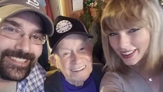 Taylor Swift Surprises 96-Year-Old War Veteran With a Performance at His Home