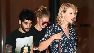 Newly Single Taylor Swift Is the Most Fashionable Third Wheel on Date With Gigi Hadid and Zayn Malik