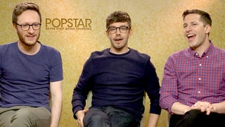 Andy Samberg and The Lonely Island Talk Celebrity Crushes and Reveal Their Favorite Boy Bands